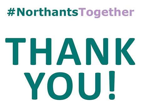#NorthantsTogether campaign
