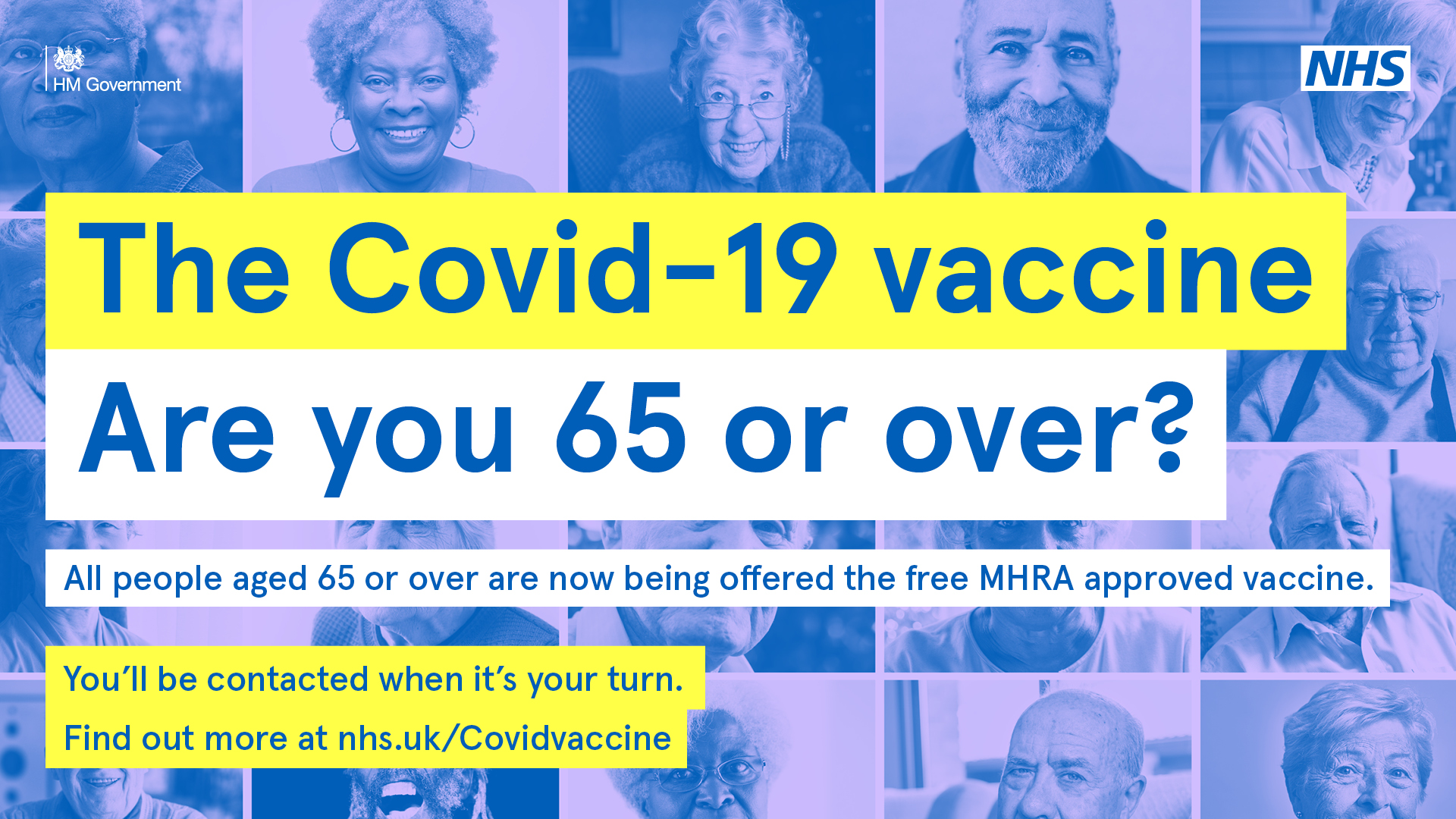 NHS in Northamptonshire urges people aged 65 to 69 to book their COVID-19 vaccine this week