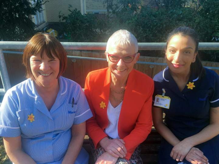 Marie Curie provides urgent end of life nursing care in people's homes